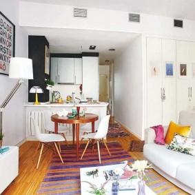 Квартира-студия небольшого размера