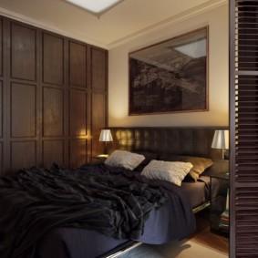 Складная дверь из деревянных ламелей