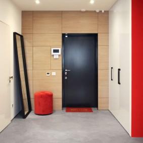 Светлый коридор в стиле минимализма