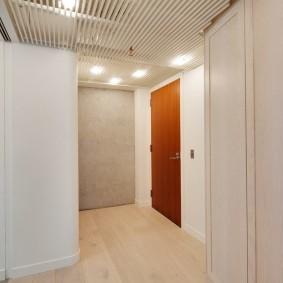 Интерьер коридоры Г-образной конфигурации