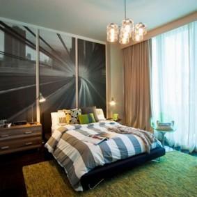 Просторная комната для современного подростка