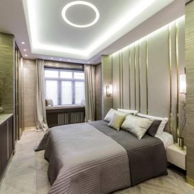 Неоновая подсветка потолочного покрытия