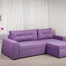 Компактный диванчик угловой планировки