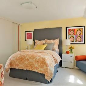 Детская спальня в пастельных тонах
