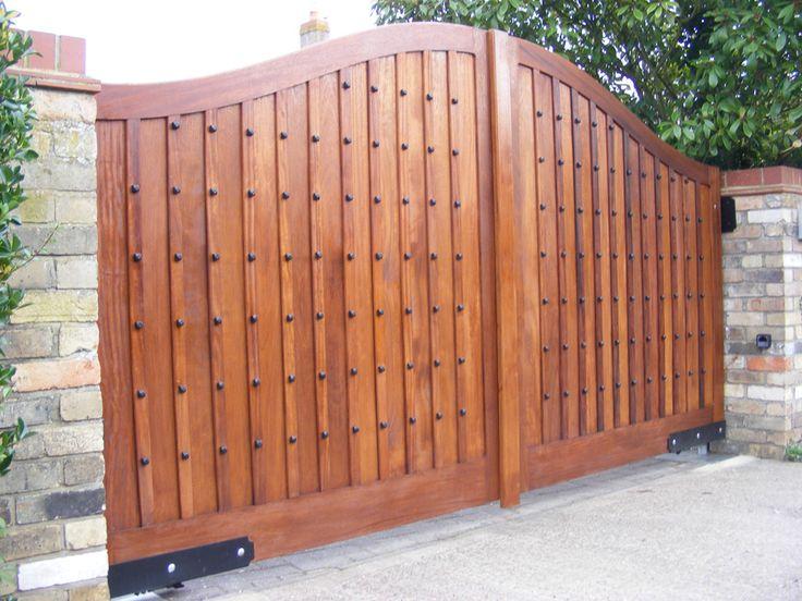 наталья распашные деревянные ворота фото размах можно ощутить