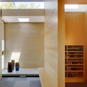 Светлая комната в духе японского стиля