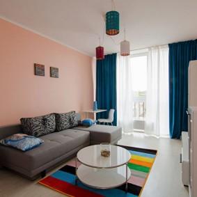 гостиная 16 кв м