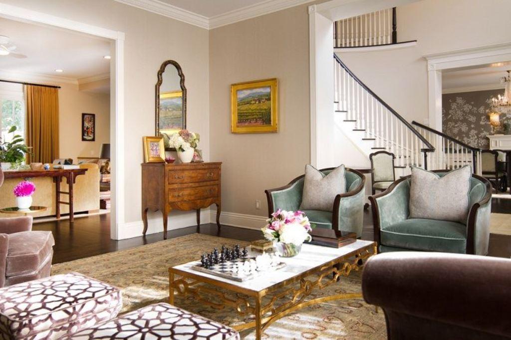 гостиная 16 кв м мебель