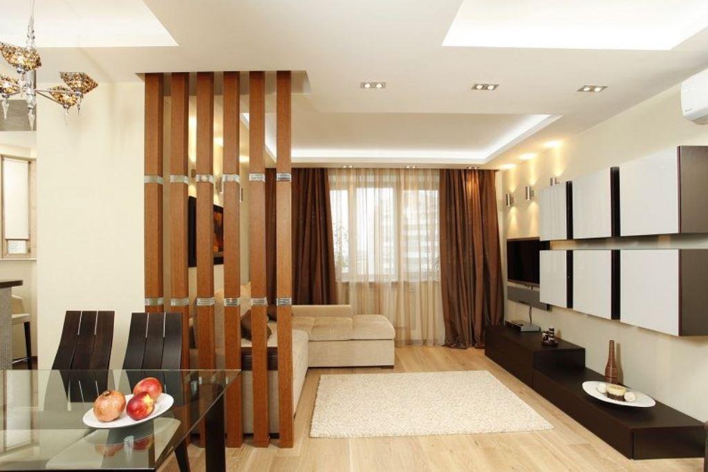 гостиная 16 кв м зонирование