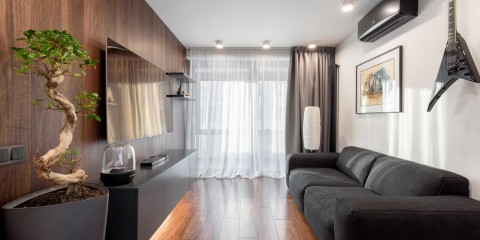 гостиная 18 кв м