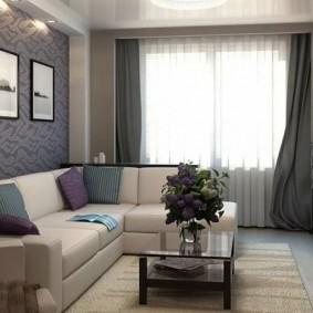 гостиная 4 на 4 метра виды дизайна