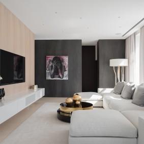 гостиная комната 18 кв м