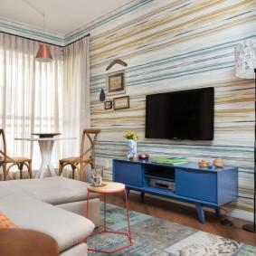 гостиная комната 18 кв м идеи дизайна