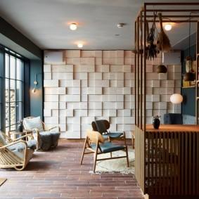 гостиная комната 18 кв м декор фото