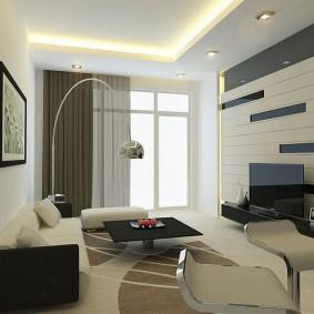 гостиная комната 18 кв м фото декора