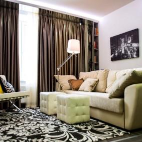гостиная комната 18 кв м интерьер