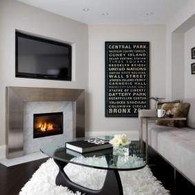 гостиная комната 18 кв м оформление идеи