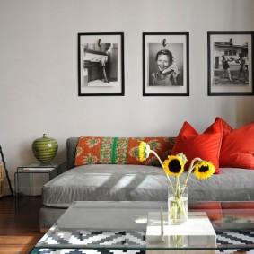 гостиная комната 18 кв м идеи оформления