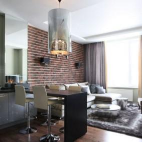 гостиная комната 18 кв м идеи вариантов