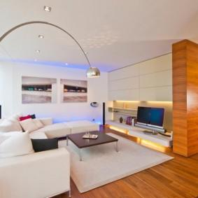 гостиная комната 20 кв м идеи