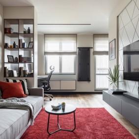 гостиная комната 20 кв м декор идеи