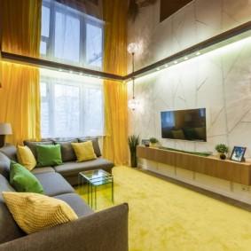 гостиная комната 20 кв м варианты идеи