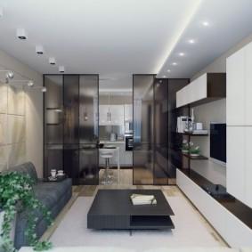 гостиная комната 20 кв м дизайн фото