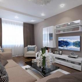 гостиная комната 20 кв м идеи виды
