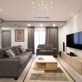 гостиная комната 20 кв м фото дизайн