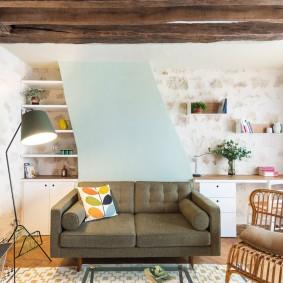 гостиная комната 20 кв м идеи дизайна