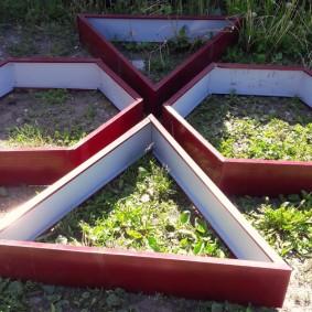 Грядки из оцинкованного металла с защитным покрытием