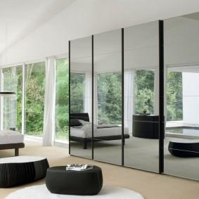 как расставить мебель в спальне идеи