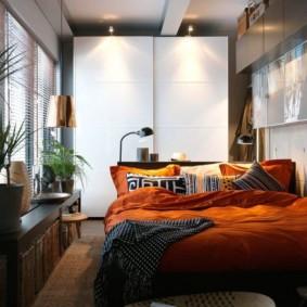 как расставить мебель в спальне обзор вариантов