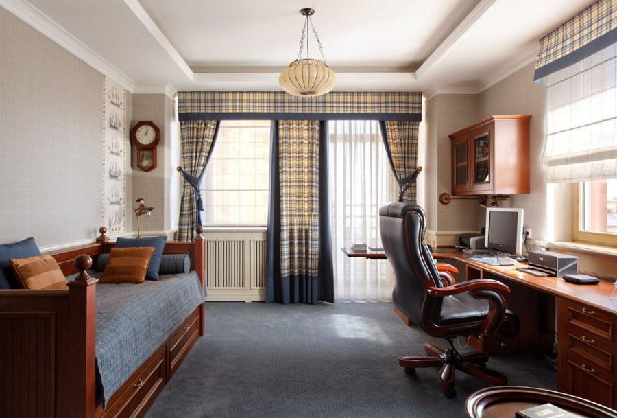 Спальня девочки в классическом стиле