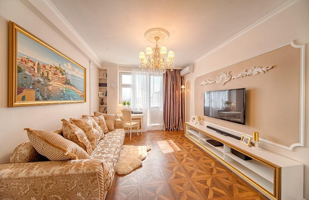 Декор гостевой комнаты в стиле классика