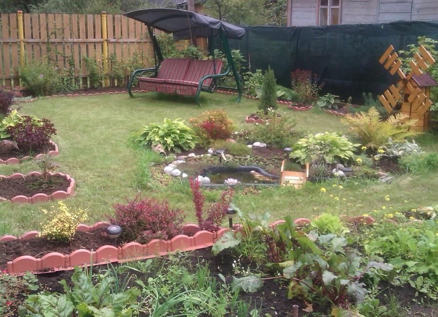 Применение садового конструктора на дачном участке