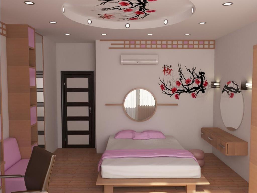 Дизайн детской спальни в японском стиле