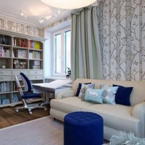 комната 12 кв м дизайн