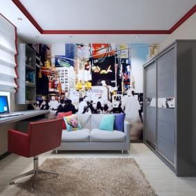 комната для парня фото декора