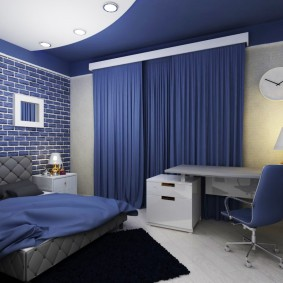 комната для парня дизайн