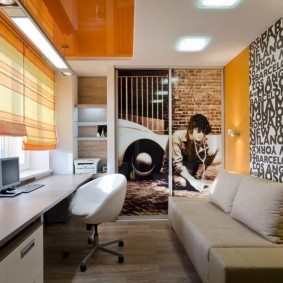 комната для парня фото дизайна