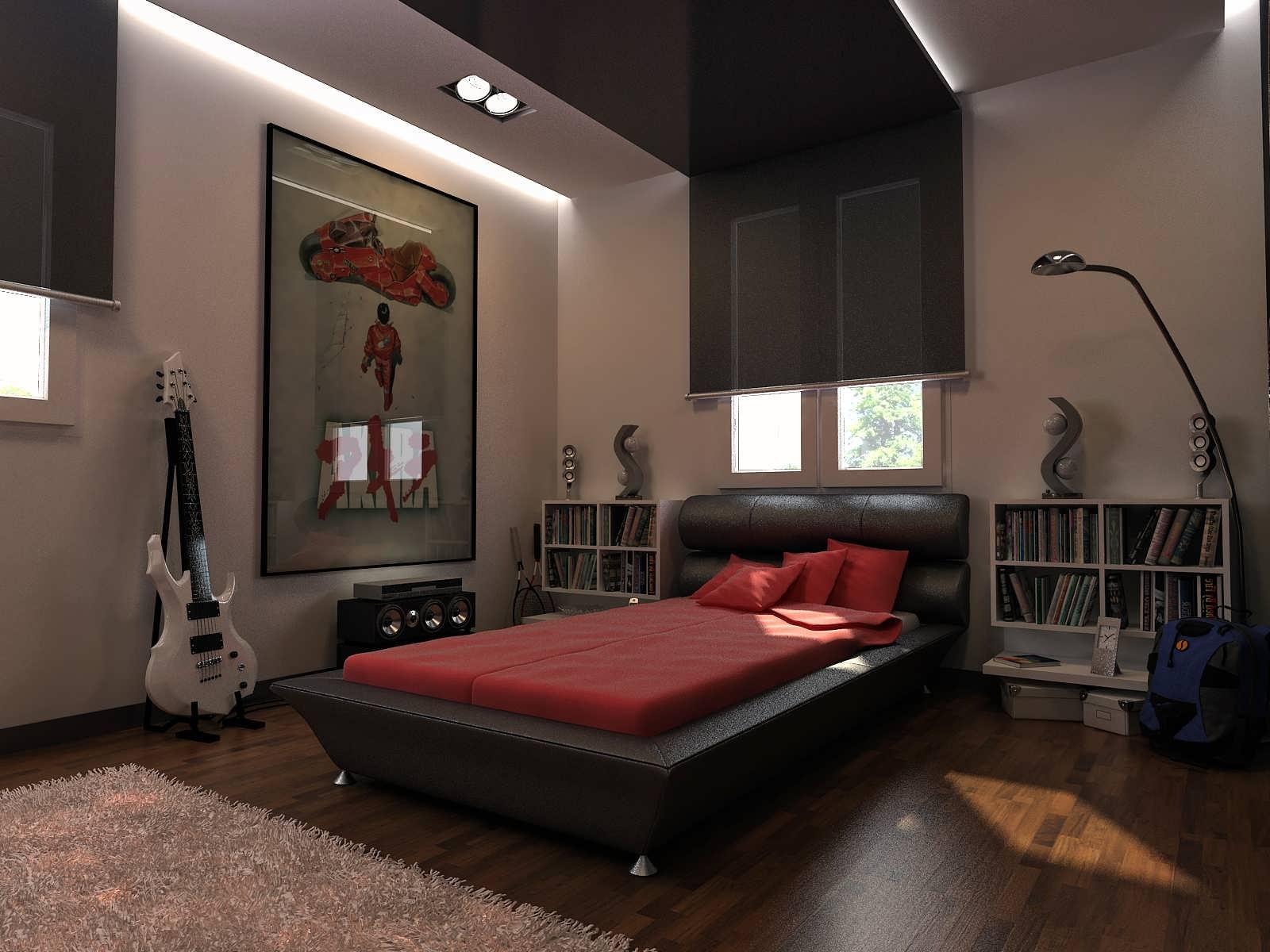 комната для юноши 20 лет
