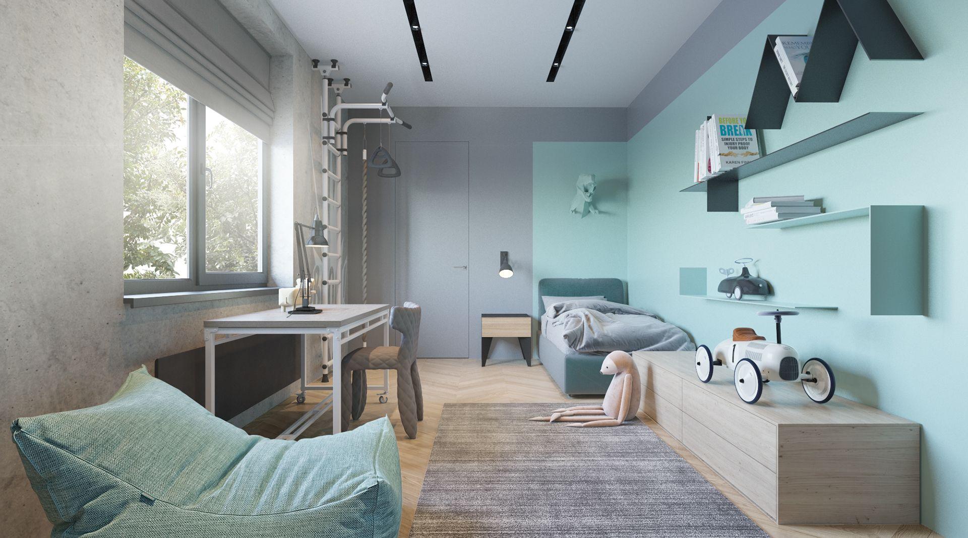 комната для юноши дизайн