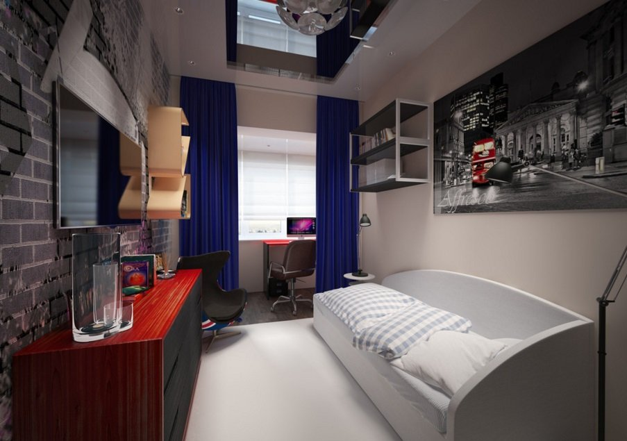 комната для юноши фото