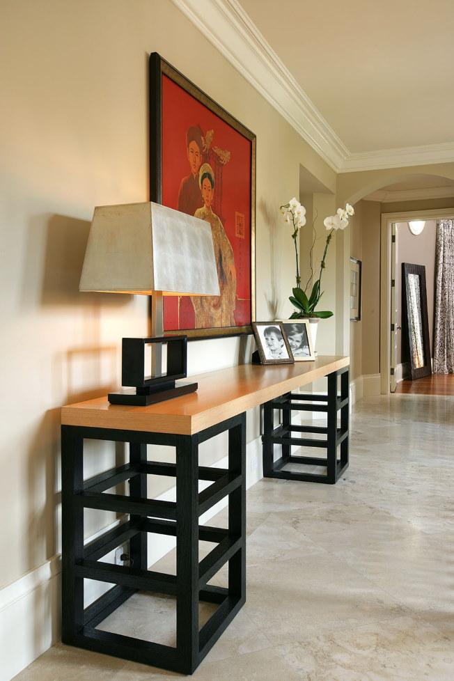 Консольный столик в азиатском стиле