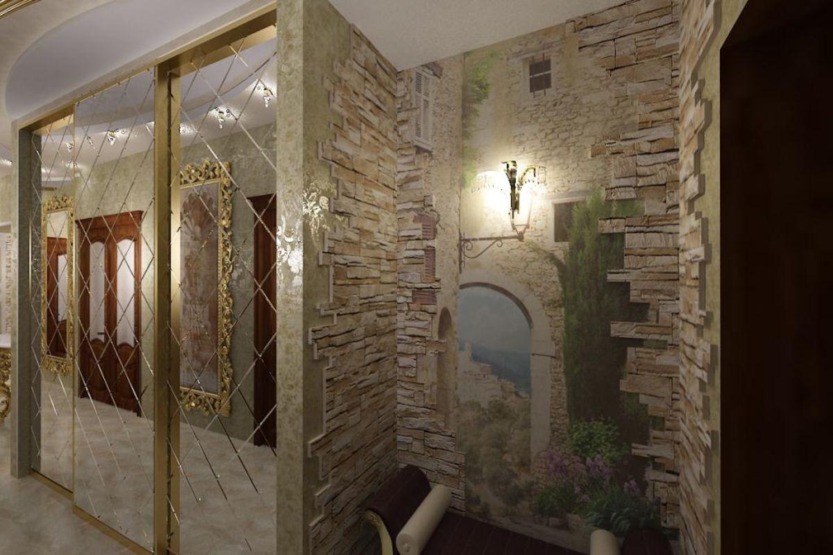 коридор дизайн интерьера