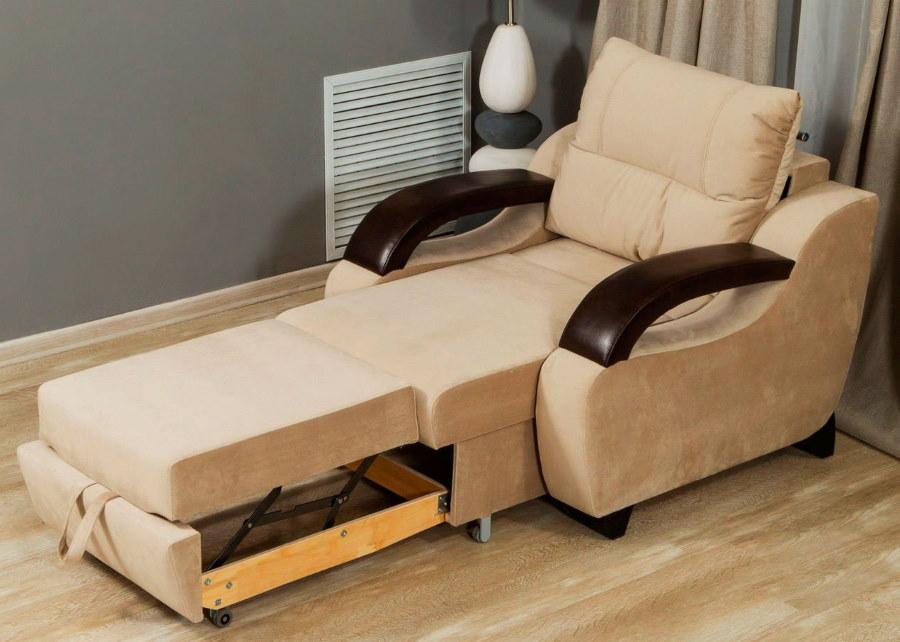 Кресло-кровать в разложенном состоянии