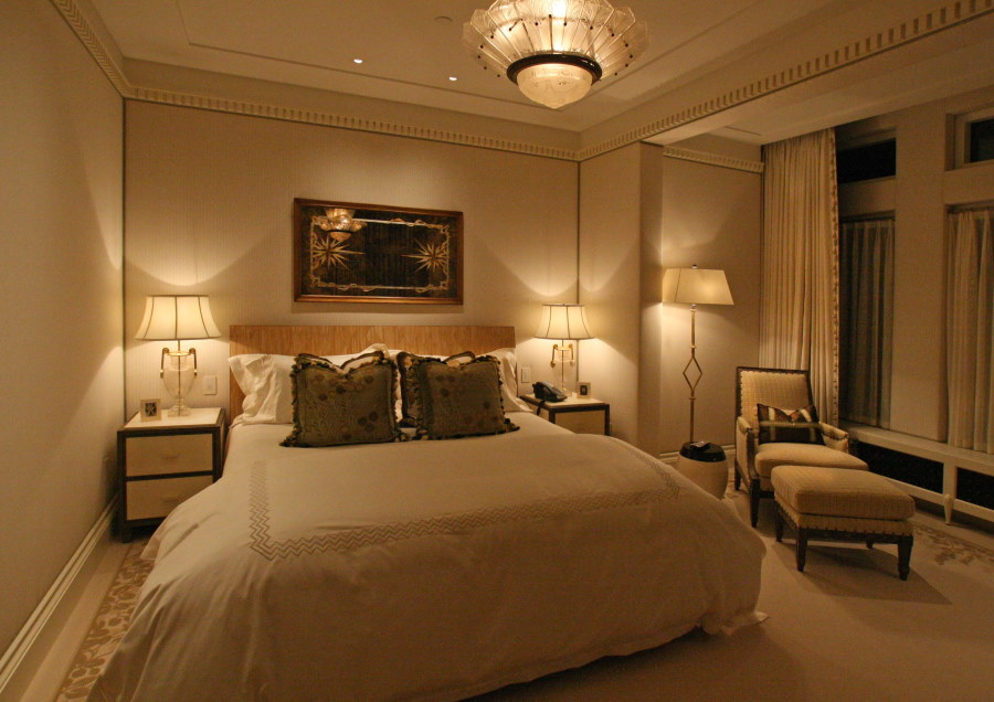 Меблировка спальной комнаты в квартире