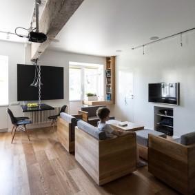 Мягкие модули дивана-трансформера