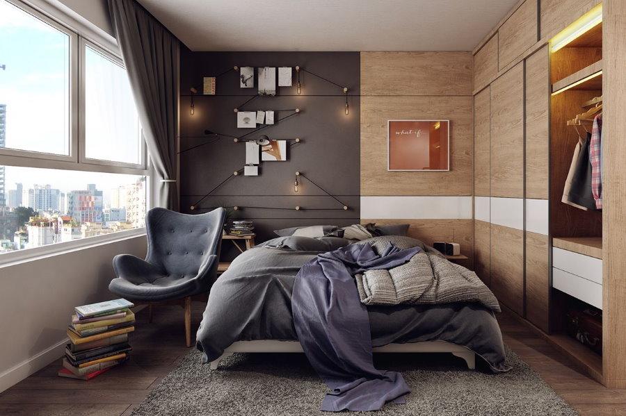 Обустройство спальни для молодого человека